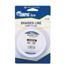 Compac Braided Line - Spool - 50YD - 25LB