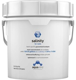 AquaVitro Salinity Salt 120gal