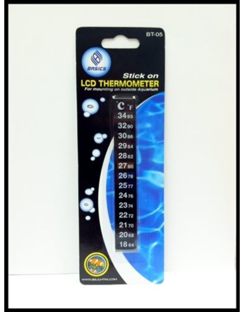 Basic's LCD Stick-On Thermometer