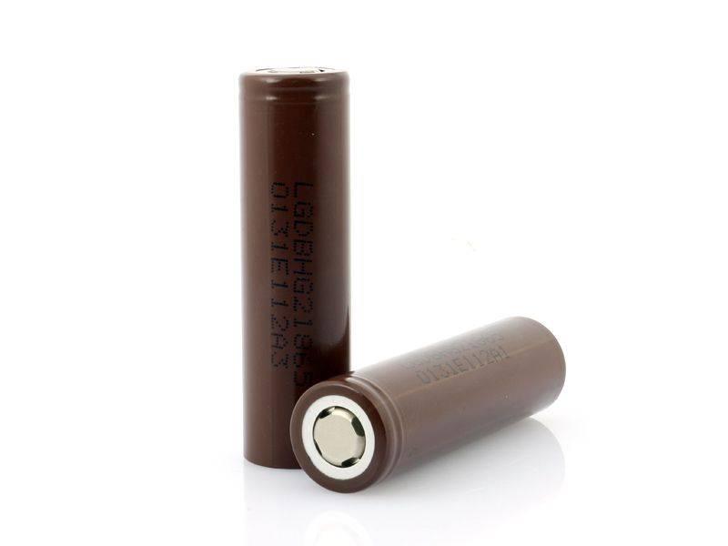 LG 18650 HG2 3000mAh Battery (brown)