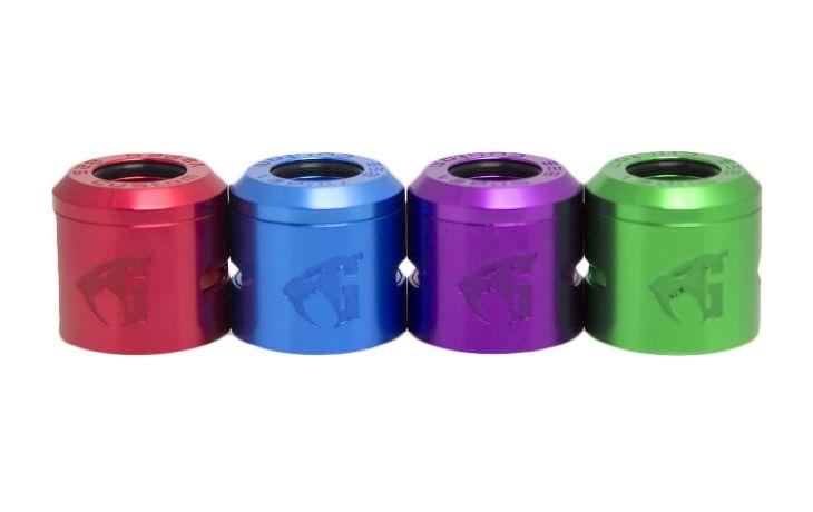 Goon 1.5 Gloss Anodized Aluminum Caps