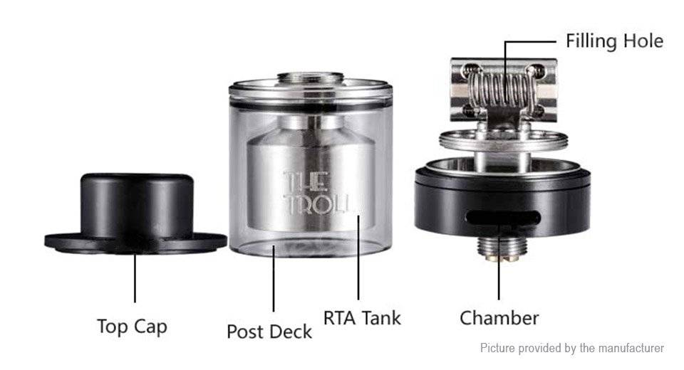 Wotofo | The Troll RTA
