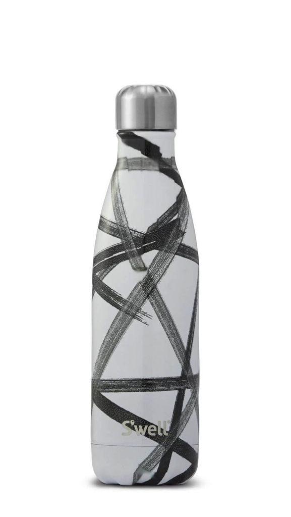 S'well - Monochrome Black Ribbon- 17oz
