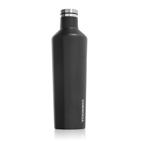 Corkcicle Matte Black Canteen 25 oz.