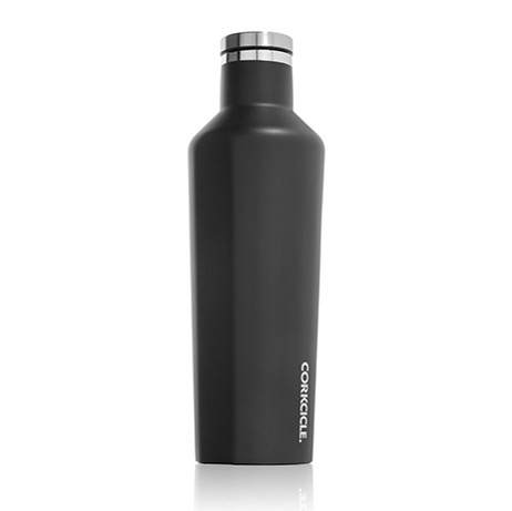 Corkcicle Matte Black Canteen 16oz.