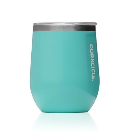 Corkcicle 12 oz. Stemless Turquoise