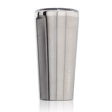 Corkcicle Brushed Steel Tumbler 16 oz.