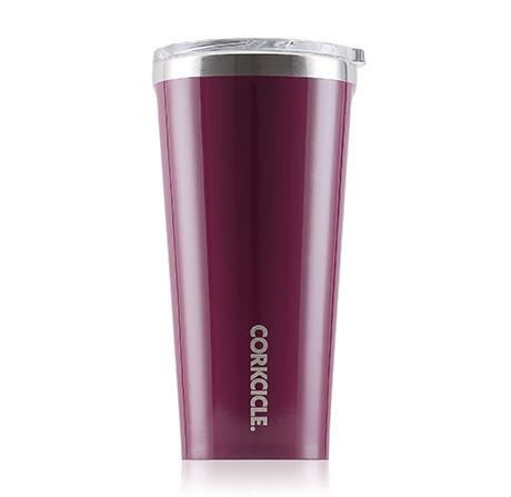 Corkcicle Gloss Merlot Tumbler 16 oz.
