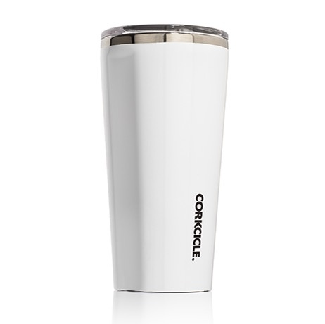 Corkcicle Gloss White Tumbler 16 oz.