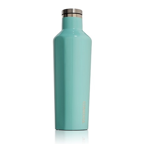 Corkcicle Gloss Turquoise Canteen 25oz.