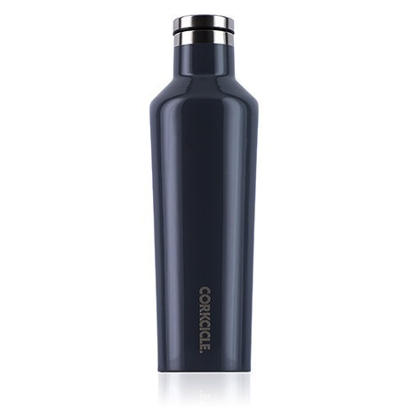 Corkcicle Gloss Graphite Canteen 16 oz.
