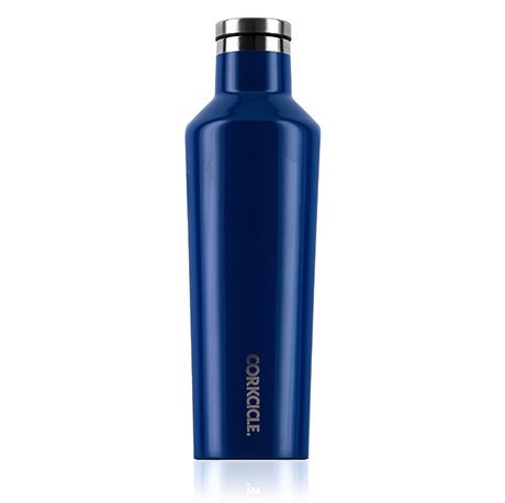 Corkcicle Gloss Riviera Blue Canteen 16 oz.