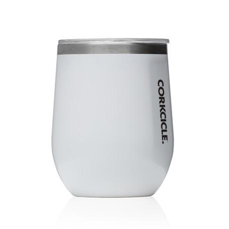 Corkcicle 12 oz. Stemless White