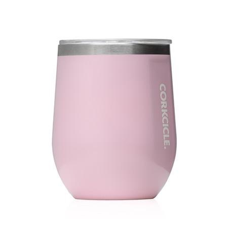 Corkcicle 12 oz. Stemless Rose Quartz