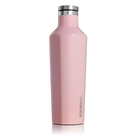 Corkcicle Gloss Rose Quartz Canteen 16oz.