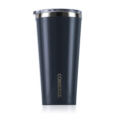 Corkcicle Gloss Graphite Tumbler 16oz