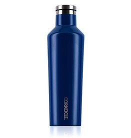 Corkcicle Gloss Riviera Blue Canteen 25oz.