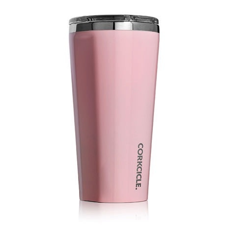 Corkcicle Gloss Rose Quartz Tumbler 16oz