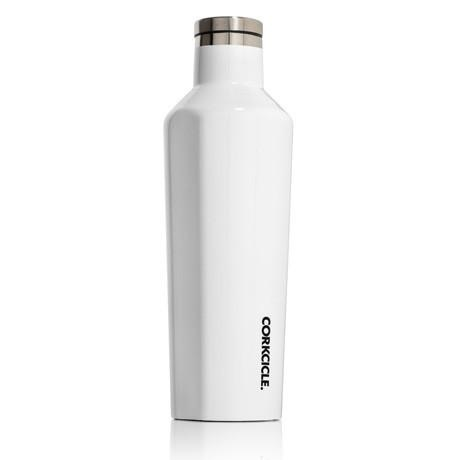 Corkcicle Gloss White Canteen 16 oz.