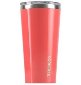 Corkcicle Gloss Coral Tumbler 24 oz.
