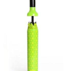 Vinrella Wine Bottle Umbrella - Botanical Green