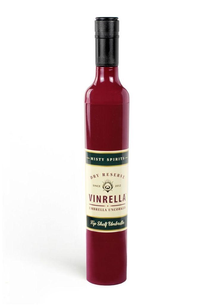 Vinrella Wine Bottle Umbrella - Burgundy