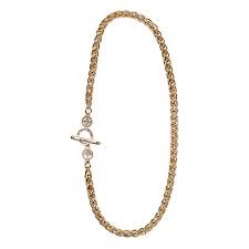 My Saint My Hero - Blessed Links Necklace - Gold
