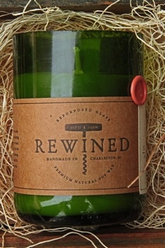 Mimosa Rewined Candle (Avail 2/4-5/20)