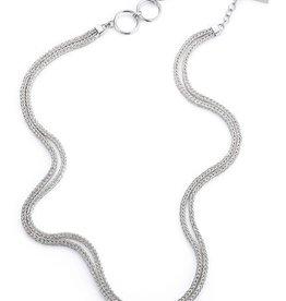 """Lori Bonn Double Strand Starter 16"""" Necklace"""