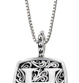Lori Bonn H is for Hot! Necklace<br /> Letter	59900XH<br /> Stone	Sterling Silver<br /> Types	Necklaces