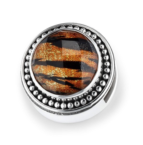 "Lori Bonn ""Eye of the Tiger"" Charm"