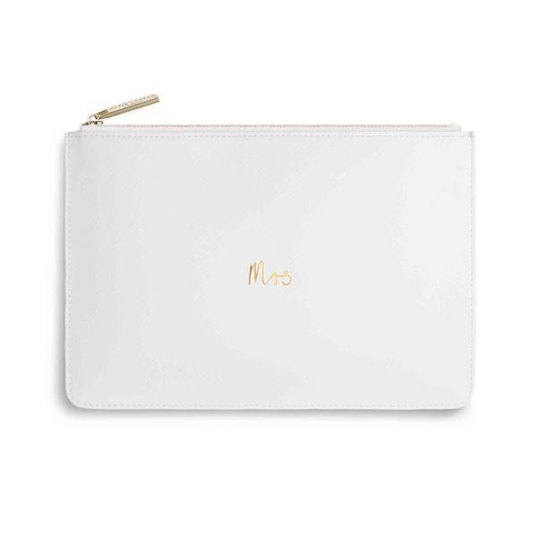 Katie Loxton The Perfect Pouch - Mrs - White