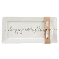 Mud Pie Happy Hostess Tray