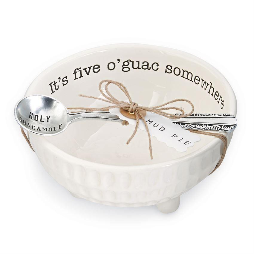 Mud Pie Guacamole Dip Cup Set