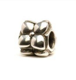 TROLLBEADS - Flowers Bead, Silver