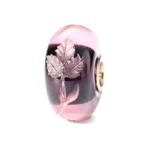 Engraved Fuchsia Bead