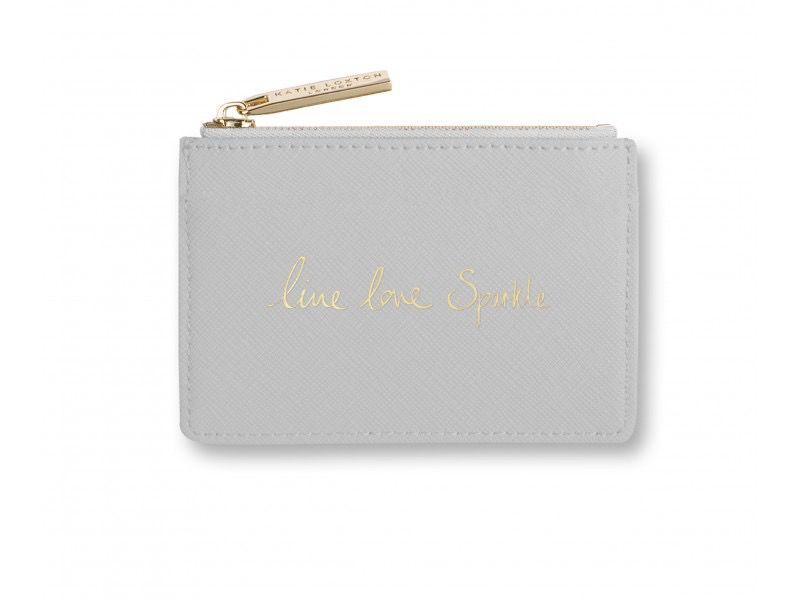Katie Loxton Card Holder - Live Love Sparkle