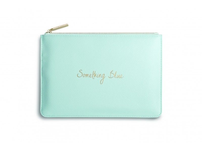 Katie Loxton Perfect Pouch - Something Blue - Pale Blue