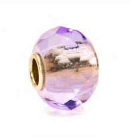 TROLLBEADS - Lavender Prism Bead
