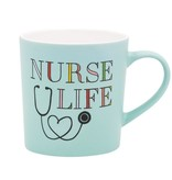 About Face Designs: Nurse Life Mug