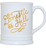 About Face Designs: Domestic As Hell Mug