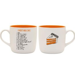 About Face Designs: Carrot Cake Mug
