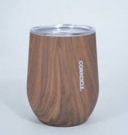 Corkcicle 12 oz Stemless Walnut Wood