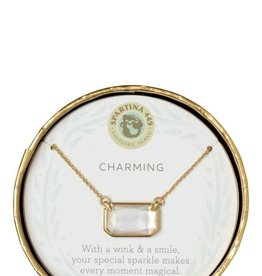 "Spartina 449 Sea La Vie Necklace 17"" Charming/Pearlescent"