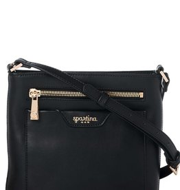Spartina 449 Boutique Middleton Slim Crossbody Black