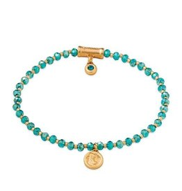 Spartina 449 Twinkle Stretch Bracelet Aqua/Mermaid