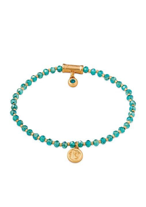 Spartina 449 Le Stretch Bracelet Aqua Mermaid