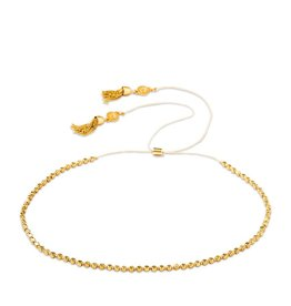 "Spartina 449 Twinkle Beaded Choker 12.5"" Gold"
