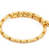 Chrysalis -GAIA Collection-Wrap-Air Gold Bangle
