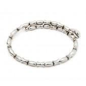 Chrysalis -GAIA Collection-Wrap-Air Silver Bangle